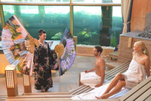 die Koi-Sauna, die größte Sauna der Welt / Quelle: Badewelt