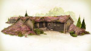ein  Haus im Loonsche Land Foto: Efteling