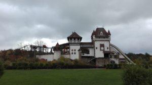 """Burg """"Rauhe Klinge"""" mit der """"g´sengten Sau"""" und der """"Badewannenfahrt"""""""